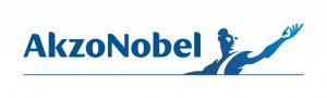 Das Logo von Akzo Nobel.